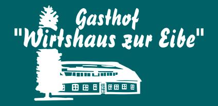 Logo Wirtshaus zur Eibe negativ