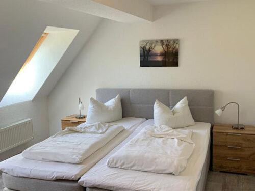 """Schlafzimmer Ferienhaus """"Wirtshaus zur Eibe"""""""