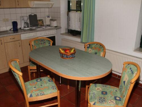 """Küche Ferienhaus """"Wirtshaus zur Eibe"""""""